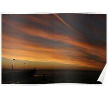Grange sunset, South Australia. Poster