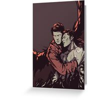 Supernatural - Dean Winchester Is Saved Greeting Card