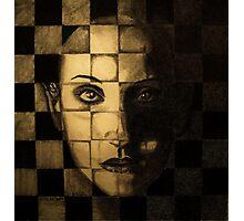 My checkered past. Photographic Print
