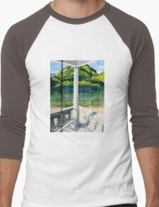 PORCH VIEW Men's Baseball ¾ T-Shirt