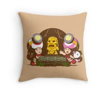 Indiana Toads Throw Pillow