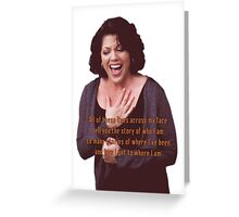 Callie Torres - The Story Greeting Card