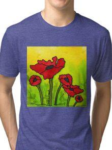 Doing The Poppy Shuffle Tri-blend T-Shirt