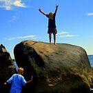 Weekapaug Rocks by Debbie Robbins