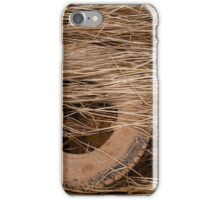 Reeds Over Flooded Tire iPhone Case/Skin