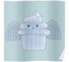 Angel food cupcake Poster