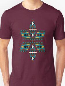 Navajo Teal Pattern T-Shirt