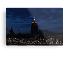 Great View at the Ball Game Metal Print
