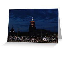 Great View at the Ball Game Greeting Card