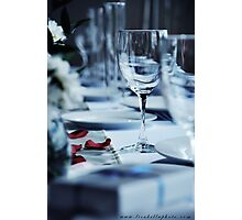 The Head Table Photographic Print