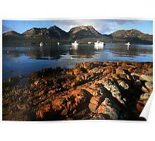 freycinet coast. tasmania, australia Poster