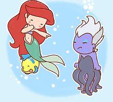 Little Ariel by Randy van der Vlag