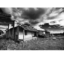 Backdoor to the Vineyard Photographic Print