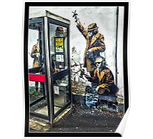Government listening post by Banksy! Poster