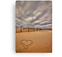 Love on the Forecast Canvas Print