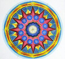 Mandala : Imagine It (DRAWING DAY 2010) by danita clark