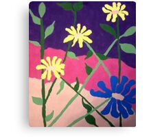Bold Floral Abstract Canvas Print