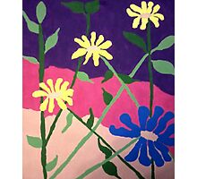 Bold Floral Abstract Photographic Print