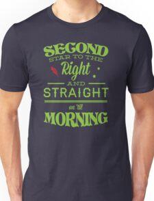 Peter Pan Neverland  - Second Star Unisex T-Shirt