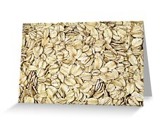 Raw Oats Greeting Card