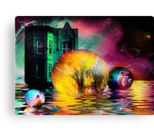 Escaping Illusions of Continuity Canvas Print