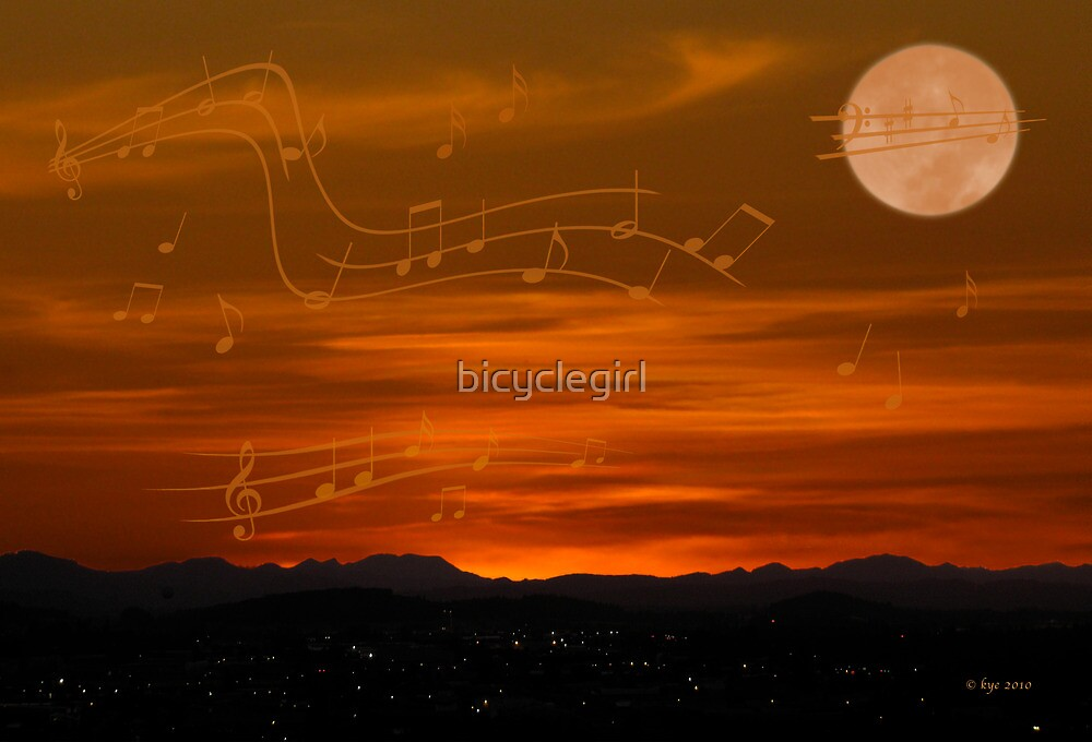 There's Music in the Air by bicyclegirl
