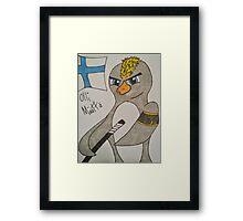 Penguin Maatta Framed Print