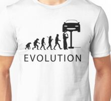 Human Evolution Unisex T-Shirt