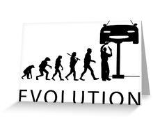 Human Evolution Greeting Card