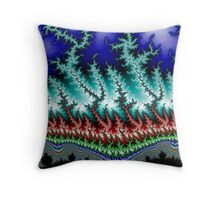 Frizzle Frazzle Fractal 1 Throw Pillow