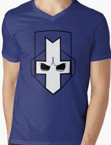 Castle Crashers| Minimal Helmet Mens V-Neck T-Shirt