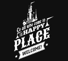 Magic Kingdom - Walt's Happy Place One Piece - Short Sleeve