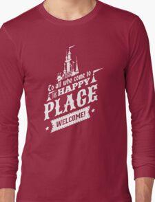 Magic Kingdom - Walt's Happy Place Long Sleeve T-Shirt