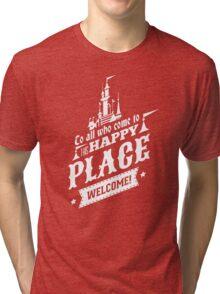 Magic Kingdom - Walt's Happy Place Tri-blend T-Shirt