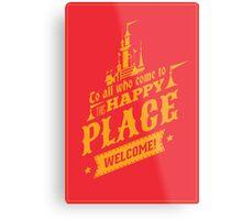 Magic Kingdom - Walt's Happy Place Metal Print