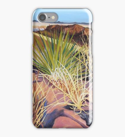 """(125) """"The Yucca Above Ft. Davis, Texas.""""   iPhone Case/Skin"""