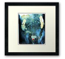 Glenn Beck's Head Locator Framed Print