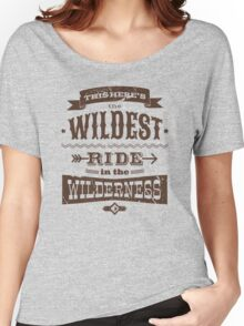 Big Thunder - Brown/Burnt Orange Women's Relaxed Fit T-Shirt