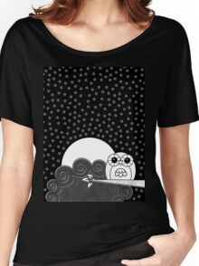 Whoot Owl Women's Relaxed Fit T-Shirt