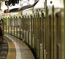 Japanese Train to Kobe by Sturmlechner