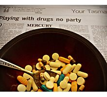 partyman drugs Photographic Print