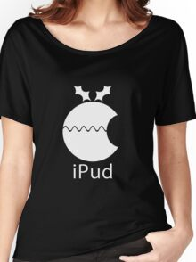 iPud Christmas Pudding Women's Relaxed Fit T-Shirt