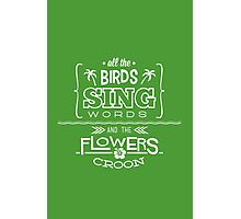 Enchanted Tiki Room - Sing Along Photographic Print