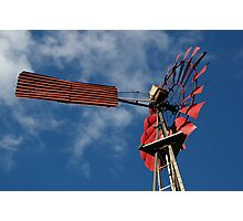 'Old Red Windmill', Nannup, Western Australia Photographic Print