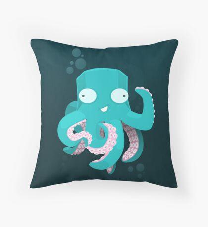 Kraken Throw Pillow