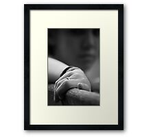 Today is the greatest. Framed Print