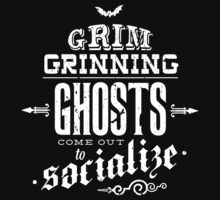 Haunted Mansion - Grim Grinning Ghosts One Piece - Long Sleeve