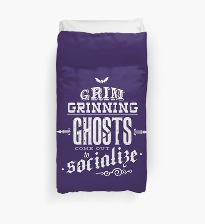 Haunted Mansion - Grim Grinning Ghosts Duvet Cover