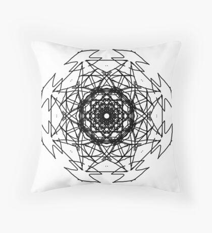 Miniminter Abstract Throw Pillow