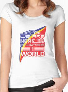 Captain EO - Change the World Women's Fitted Scoop T-Shirt
